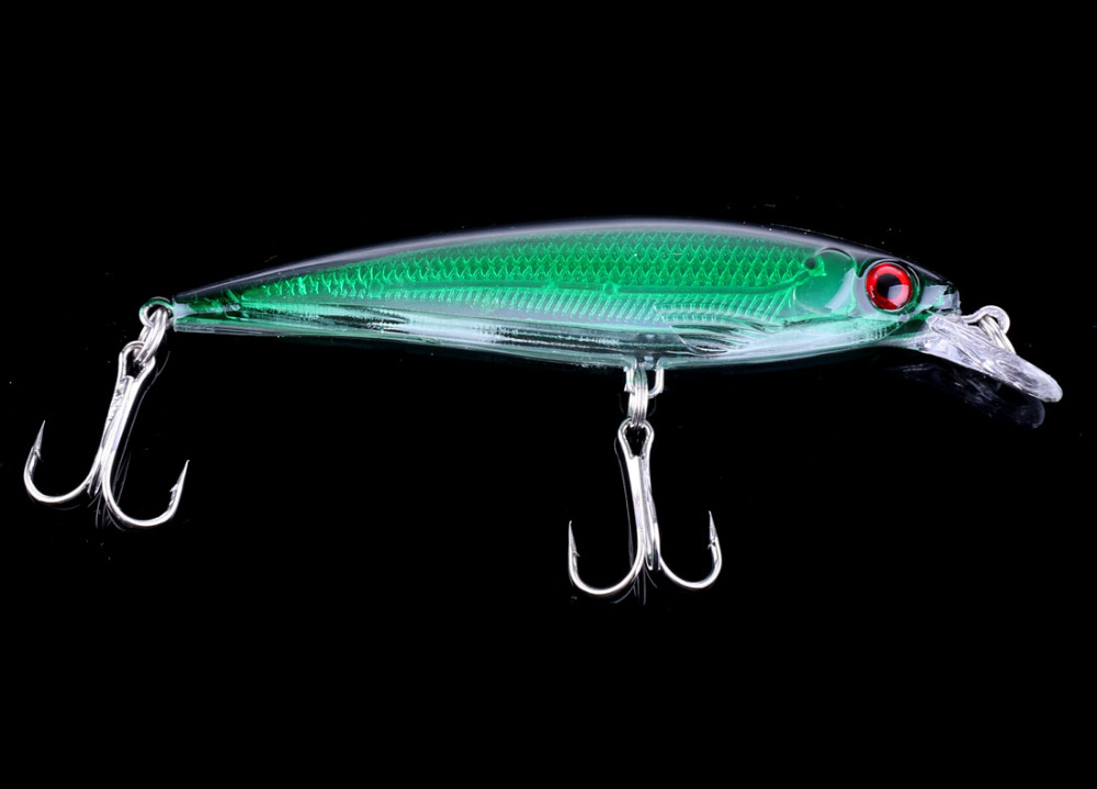 1pcs Isca Artificial Fishing Lure Wobbler Laser Minnow 6# Feather hook Plastic hard bait 10 colors 11cm 13.4g wldslure 1pc 54g minnow sea fishing crankbait bass hard bait tuna lures wobbler trolling lure treble hook