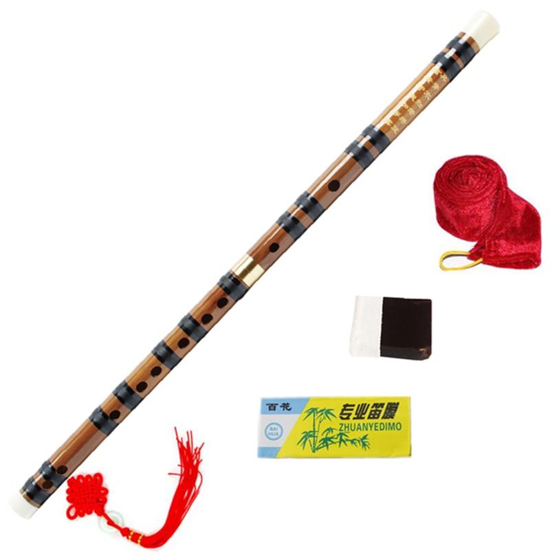 Chinese Bamboo font b Flute b font Brass Joints font b Key b font of C