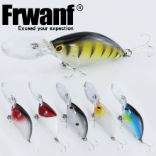 Купить с кэшбэком Frwanf 6 PCS/lot Lifelike Hard Swimbait 11cm 18.5g Crankbaits Artificial Wobblers Hard Lure Fishing Lure