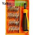 Yalku Präzision Schraubendreher-set 32 In 1 Professionelle Schraubendreher-set Reparatur Werkzeug für Uhr Computer iPhone Demontieren Hand Werkzeug