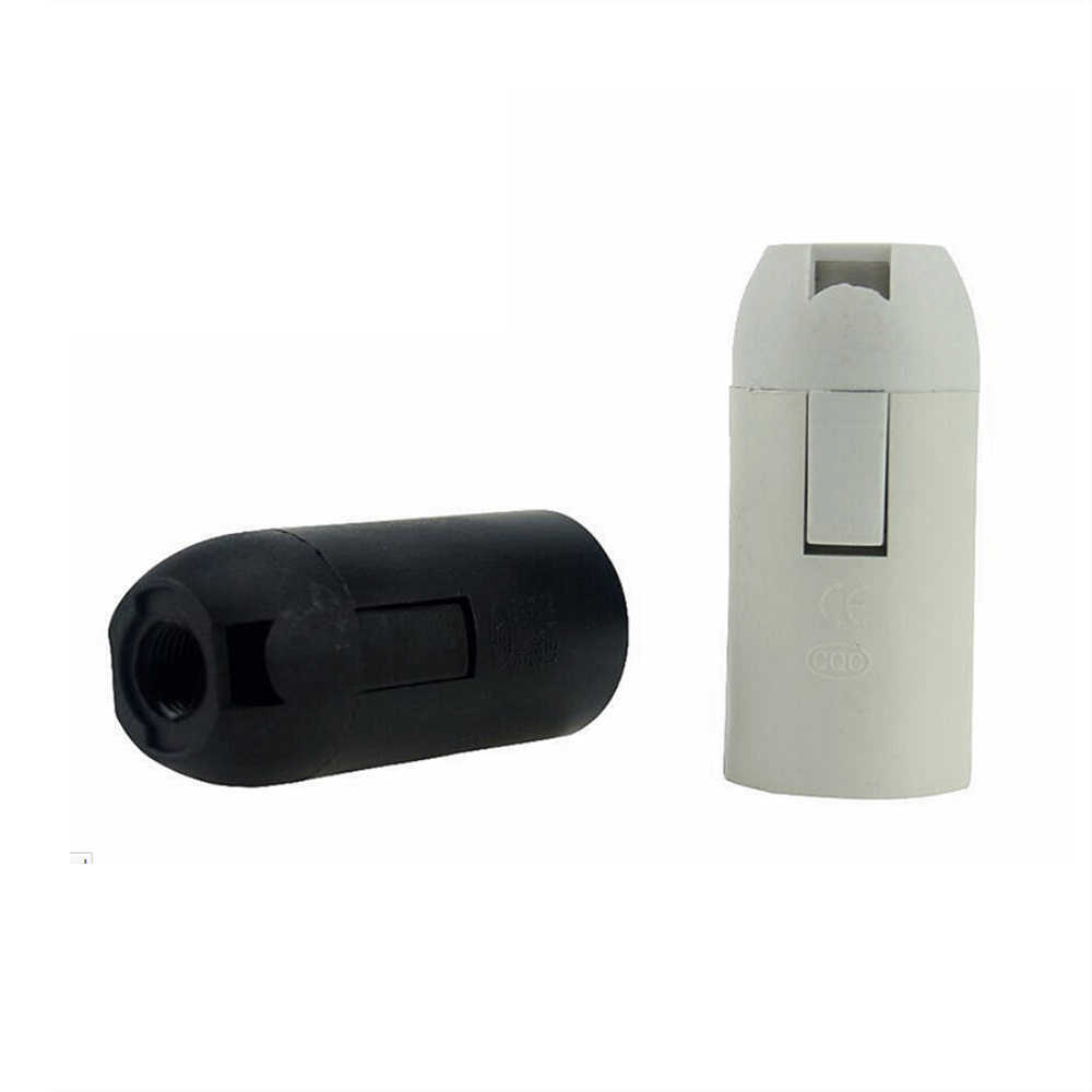 500PCS/Lot lighting accessories E14 E27 lamp holder Holder accessori Lamp socket luminaire lampholder flexible