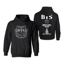 Aikooki BTS Kpop Hooded Womens Hoodies Pullover moda Casual Streetwear  sudadera hombres Corea Popular Bangtan ropa 91ed181c19b