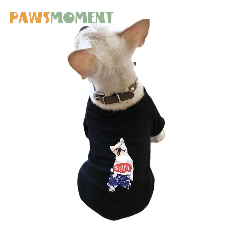 2018 Dog Clothes For Small Dogs French Bulldog Hoodies Outfit For Dogs Pet Clothes Chihuahua Sweater Fleeces Pet Hoodie S-4XL