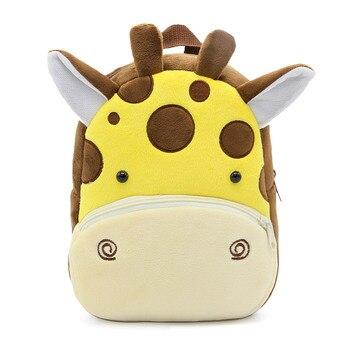2020 Cartoon Kids Plush Backpacks Mini Kindergarten schoolbag Plush Animal Backpack Children School Bags Girls Boys Backpack - 22