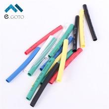70Pcs 7 Colors 3mm Heat Shrink Tube Bag 10pcs each Retardant Polyolefins 2:1 Heat Shrinkable Tubing Wrap Sleeve Assorted Kit