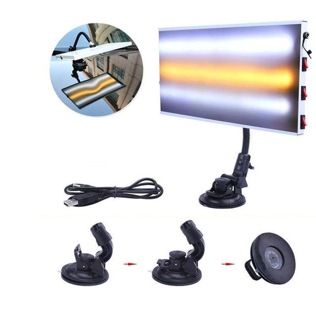 LED Light 3 StripCar Body Lamp Board For Paintless Dent Repair Hail Removal Kit