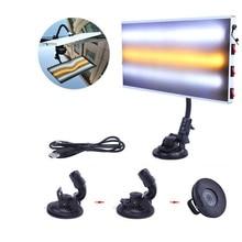 LED Light 3 StripCar หลอดไฟสำหรับ Paintless Dent Hail Removal Kit