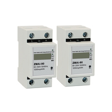 2pcs Smart Life APP Single phase Din rail WIFI Smart Energy Meter Power Consumption kWh Meter wattmeter 220V,110V AC 50Hz/60hz ddm100tcf 15 60 a 110v 60hz three phase din rail kwh watt hour monitor meter lcd with multi tarffi