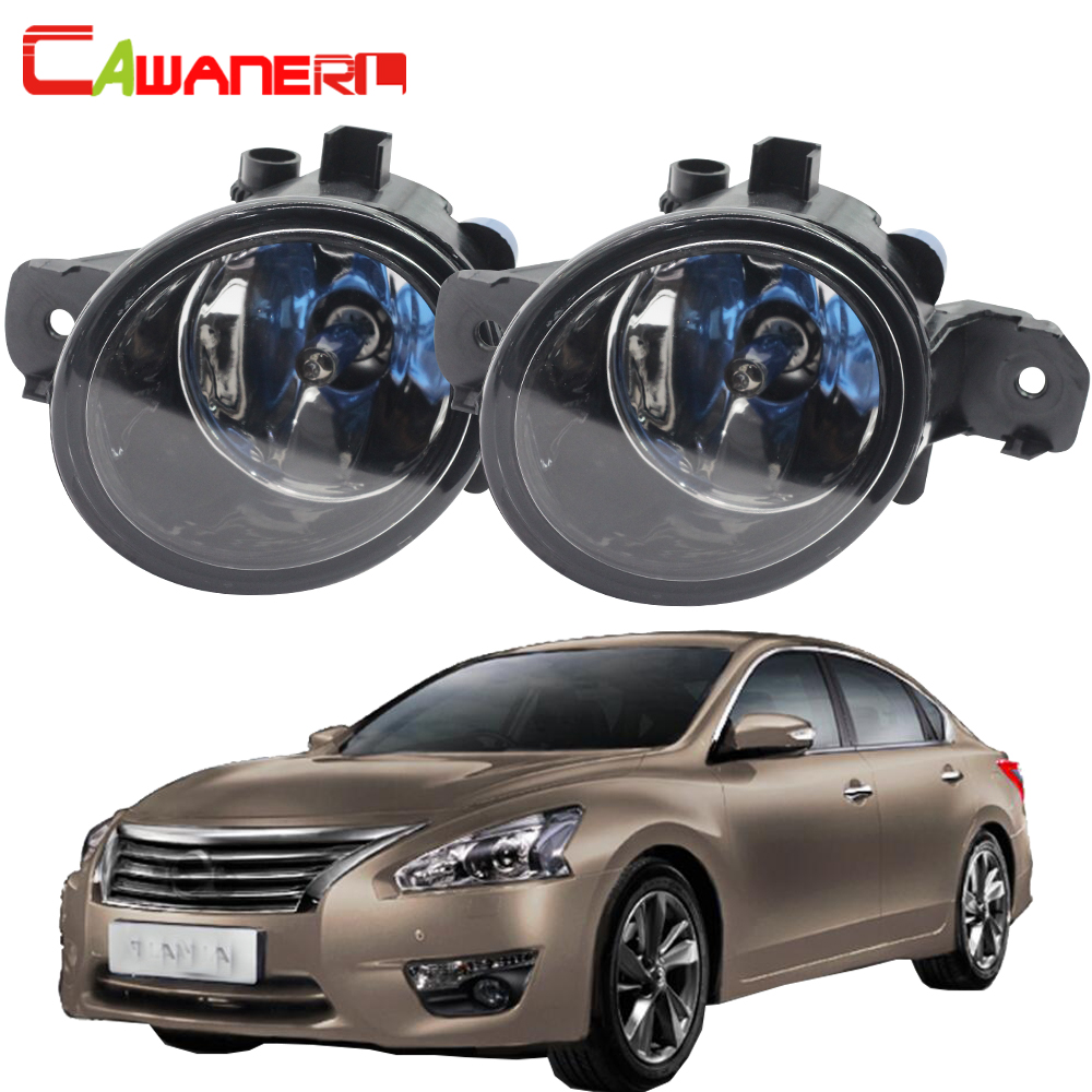 Cawanerl For Nissan Teana 2004-2015 100W H11 Car Halogen Bulb Fog Light DRL Daytime Running Lamp Styling 12V High Power 1 Pair