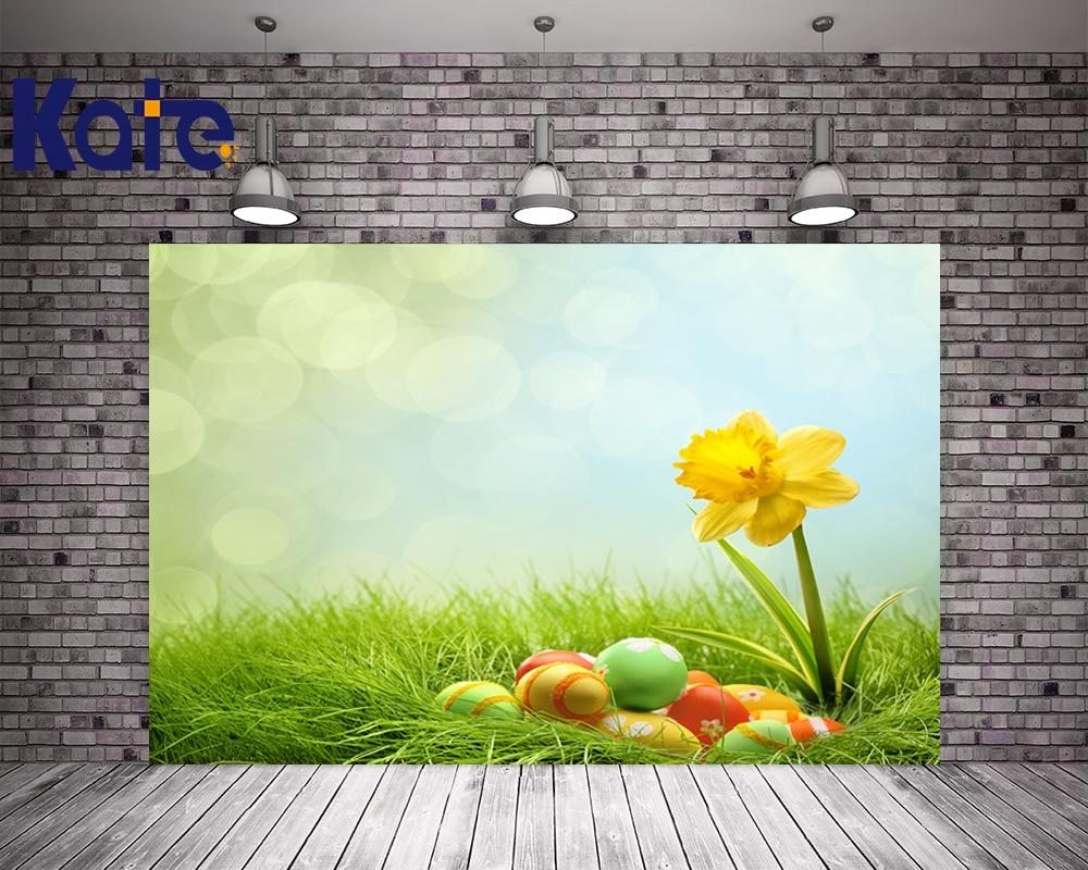 3M*3M(10*10Ft) Easter Photography Backdrops Eggs Sunny Grass Photography Easter Sunday Zj bulgakov m the fatal eggs