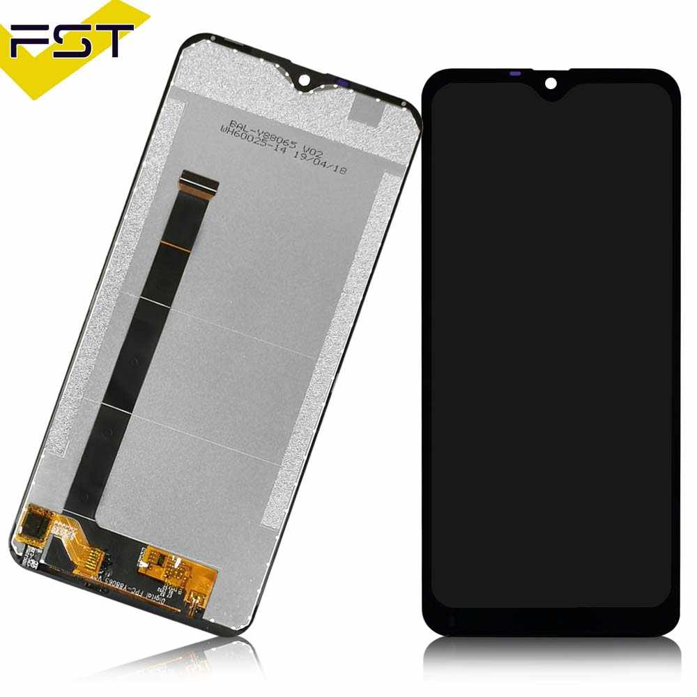 Smartillumi for LCD Screen and Digitizer Full Assembly for Ulefone S1 Pro Color : Black Spare Part Black