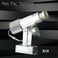 10PCS/LOT Advertising Lights Projector Remote Shop Mall 30W Restaurant Welcome Laser Shadow Design Own logo