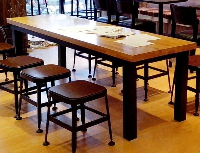 Francés del vintage de madera país de américa mesas y sillas de ...