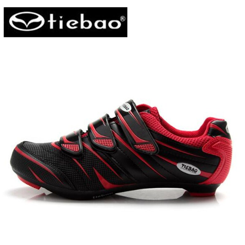 TIEBAO Cycling Shoes For Men road bicycle sapatilha ciclismo breathable bike sneakers men self-locking shoes for hunting boodun breathable men s cycling shoes road mountain bike shoes racing self locking cycling sneakers sapatilha ciclismo mtb shoes
