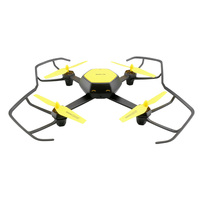 Kidstime RC Drone RTF With WiFi 480P HD Camera / Altitude Hold Intermediate Level 6 Axis Quadcopter Professional Yellow
