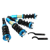 Fit For Honda Acura Civic 92 00 Adjustable Coilovers Coil Bluish CO CIVIC9297 SB NA