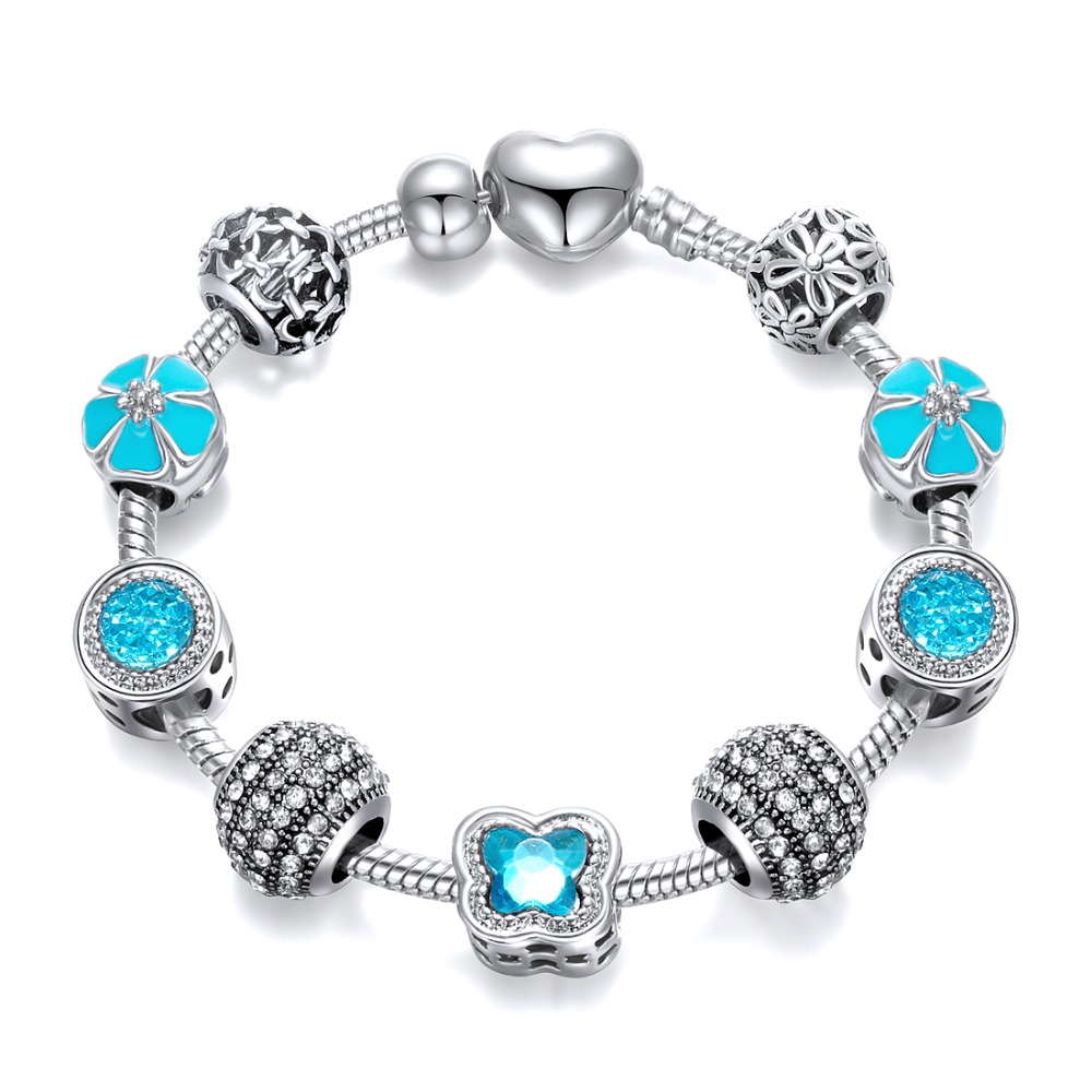 Charm Beads Bracelet Crystal Bracelets For Women Charm