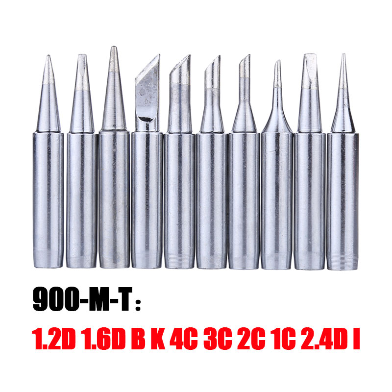 Lead-free Solder Iron Tip 900M-T Series Metal Soldering Iron Head For Welding Rework Station Repair Tool