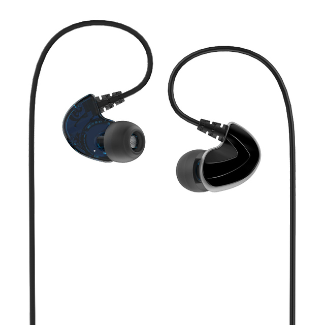FIDUE A73s Hybrid Balanced Armature+Dynamic Driver with MIC HiFi In-Ear Earphone for Phone with 3.5mm CTIA Standard jack 4