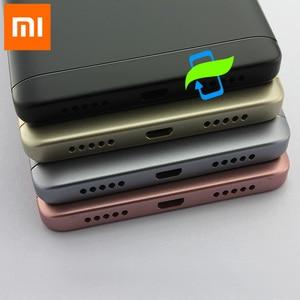 Image 4 - Orijinal pil arka kapak Xiaomi Redmi için not 4X32 GB Snapdragon 625 arka konut arka kapı kasa + yan düğmeler + kamera Lens