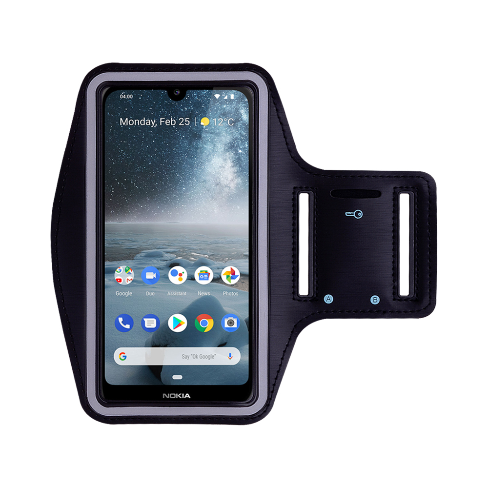 Gym Running Sports Workout Armband Phone Case Cover For Nokia 7.1