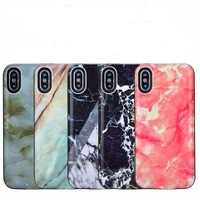 2018 For iPhone X Battery marble Case 6000mAh Rechargeable External Battery Portable Power Charger Protective Charging Case