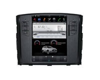 10.4 Inch Tesla style Android 7.1 Car DVD Player GPS Navi For Mitsubishi Pajero V97 V93 Shogun Montero 2006+ Unit Radio Satnav