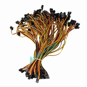 100 Pieces/lot 12V 3Pin Female to Dual Male 3pin Y-Splitter Adapter Cable Fans Power Extension Cable Wire