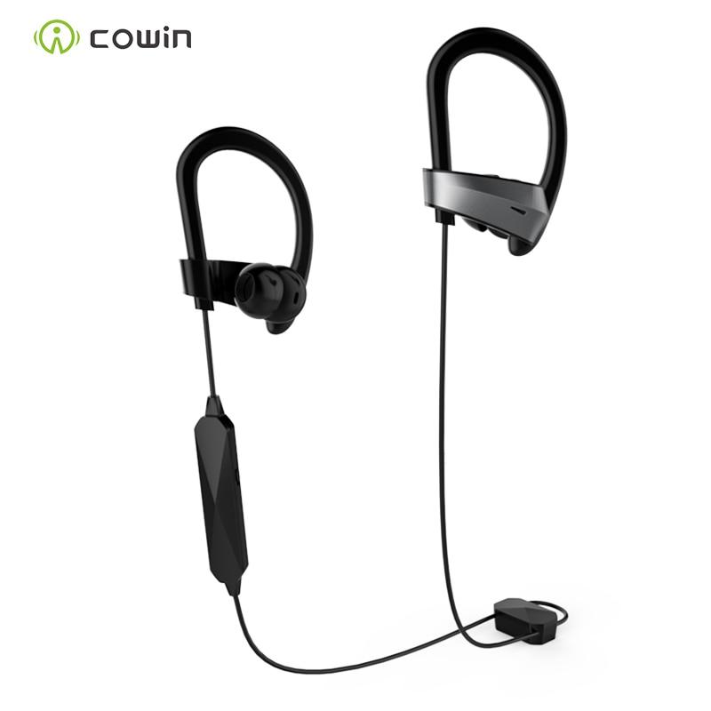 цена на Cowin HE8k active noise reduction Bluetooth headset earbuds wireless sports music headset black