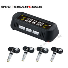SMARTECH Solar Car tpms tire pressure monitoring system tire pressure sensor with LCD display With Temperature Warning USB TPMS snaith john collis the wayfarers