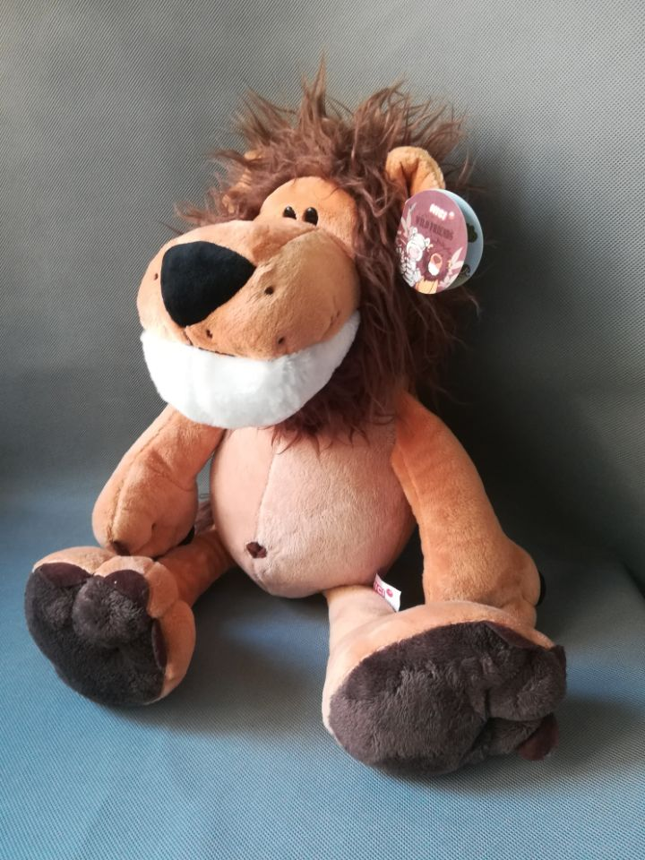 about 50cm lovely jungle lion plush toy soft doll throw pillow toy Christmas gift h0889