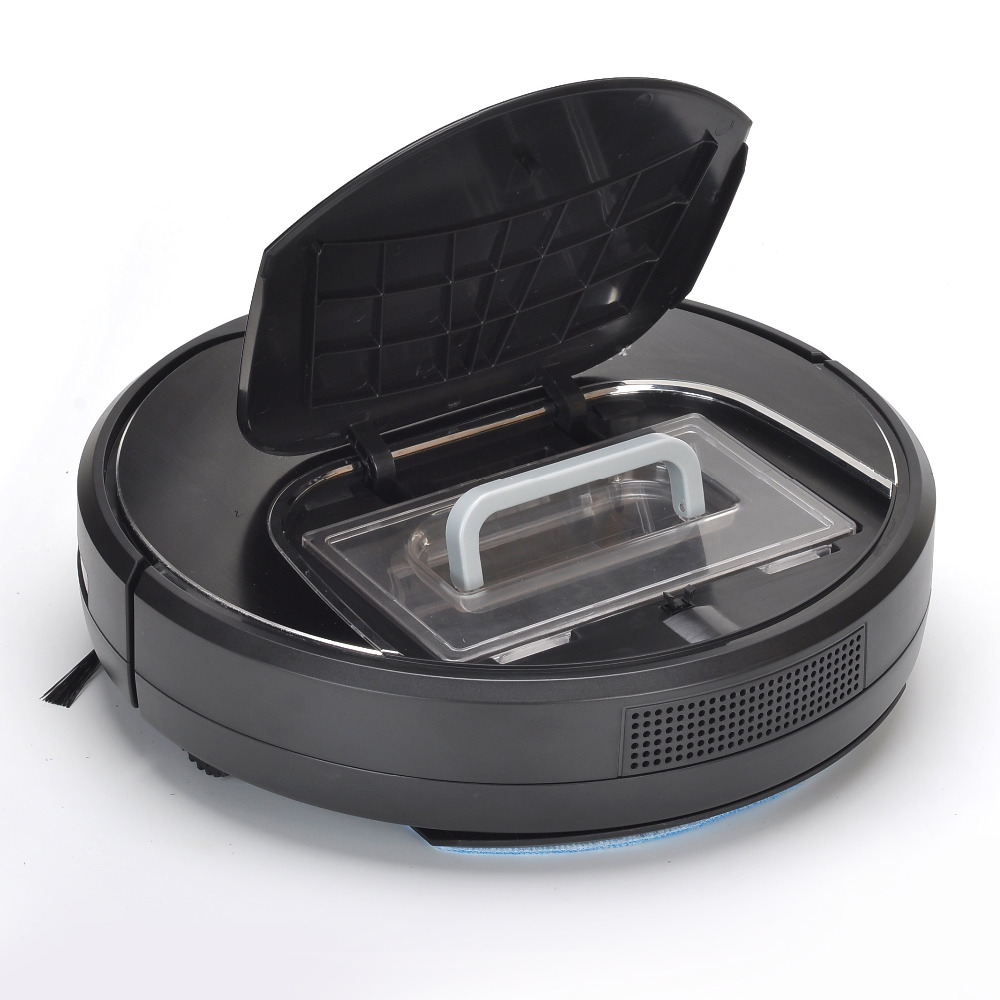 Eworld M883 Robot Vacuum Cleaner Wet and Dry Mop 2 Brush Touch Screen With Voice Prompts