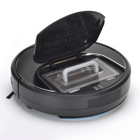 Eworld M883 Robot Vacuum Cleaner With Water Tank Wet And Dry Mop 2 Brush Touch Screen