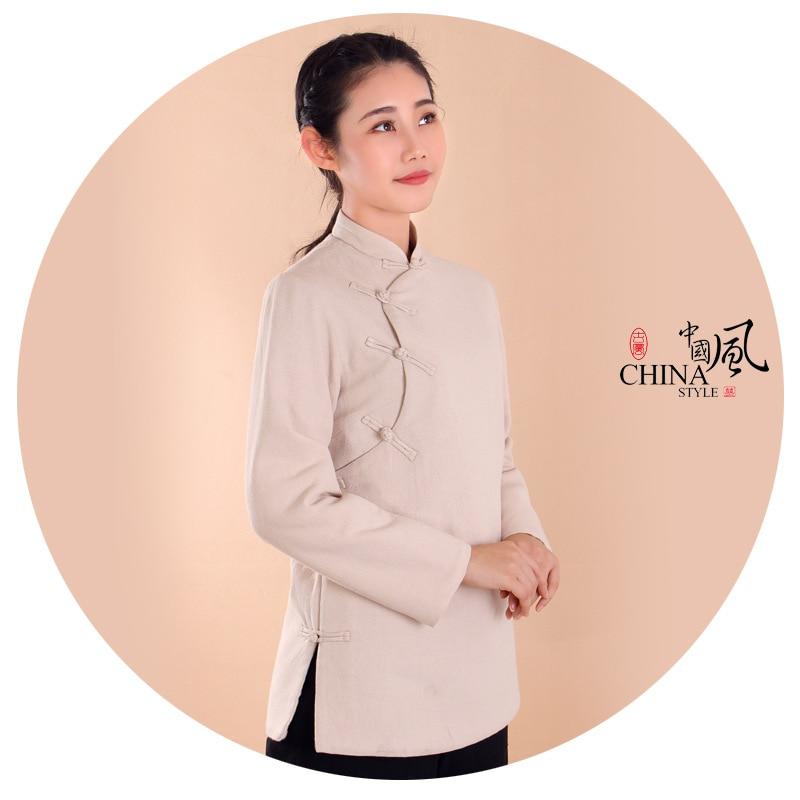 Cotton And Linen Suit Unisex Cotton&linen Winter Warm Zen Suit Lay Meditation Uniforms Tang Suits Martial Arts Nun Monk Clothing