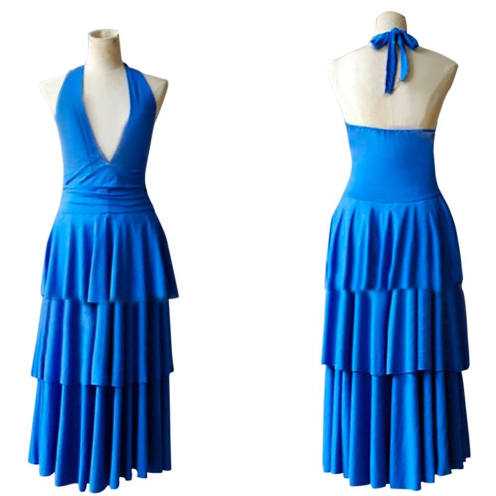 Breaking Dawn Twilight Bella Swan Blue Prom Dress Costume Cosplay ...