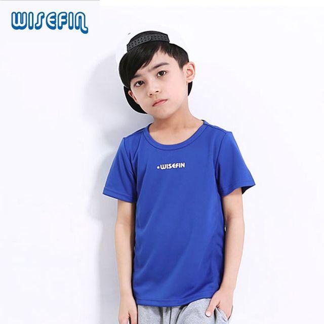 Trocknend Jungen Shirt Kinder Sportbekleidung Wisefin Schnell T a58z1nTWq