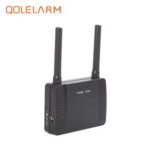 Image 2 - 433 mhz repetidor de sinal de alarme sem fio transmitir e aumentar o sinal de sensor detector extensor para o nosso sistema de alarme de segurança