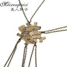 5 шт/компл для бриллиантов ожерелье всегда вместе никогда не