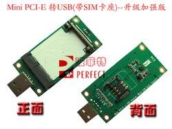 Obróć Mini pci-e USB (z kartą SIM)  kartę testową WWAN  kartę SIM USB