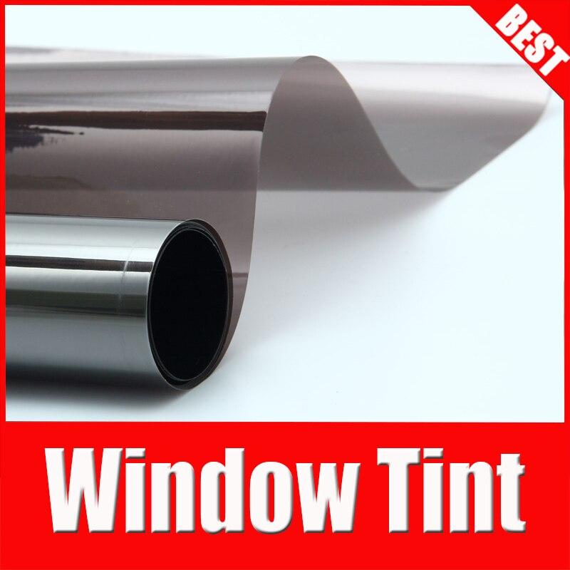 TSAUTOP 1.52*30 м высокое качество самое лучшее окно оттенок фильм окно фольга Солнечная защита для автомобиля заднем лобовом стекле пленка ПЭТ KSB008