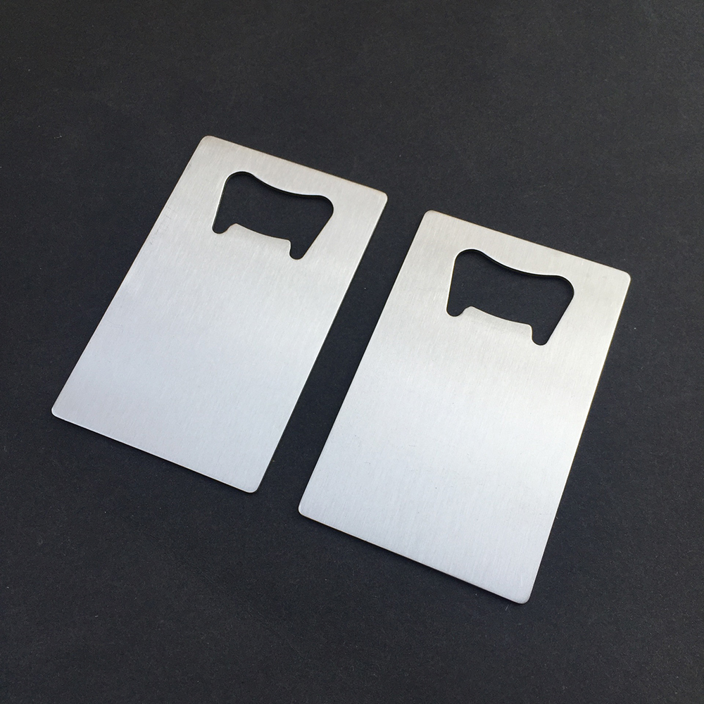 100x Personalized Credit Card Bottle Opener Wedding Favor Custom ...