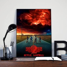 Stranger Things Season 2 Poster Canvas Painting Print Bedroom Kitchen Home Decor Modern Wall Art Oil Pictures Artwork
