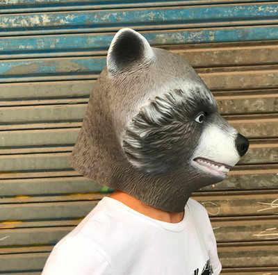 Galaxy Guardião 2 Filme Marvel Superhero Máscara de Guaxinim Foguete Groot Peter Quill Capacete Máscara Cosplay Halloween Party Prop