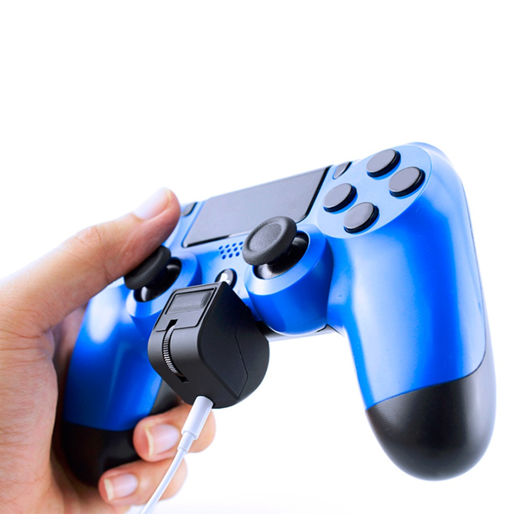 Earphone Controller For PS4 VR Handle Headset Adapter Professional For Chatting Volume Control And Game Sound