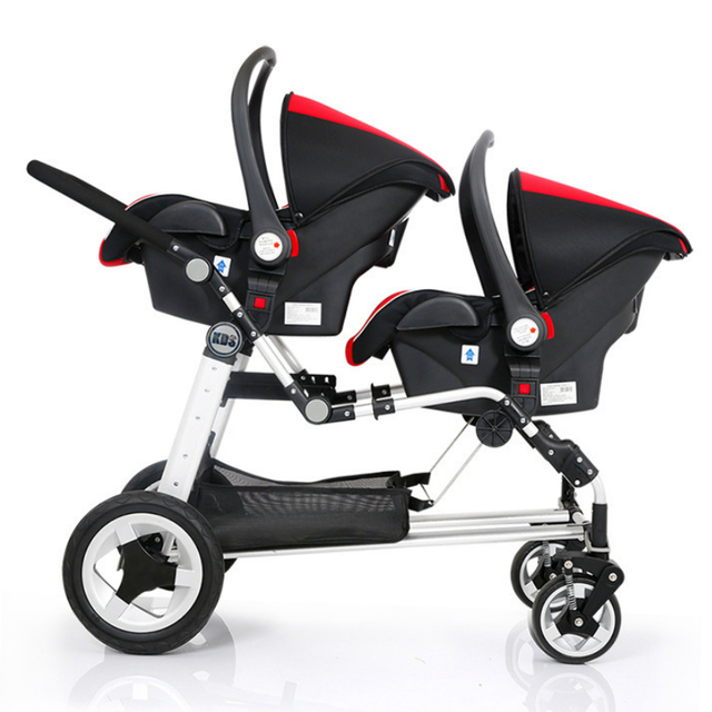 Carriage Type Strollers Aliexpress Buy Super Shock Absorbing Twins Baby