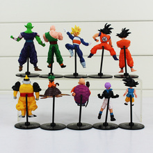 10Pcs Dragon Ball Action Figure