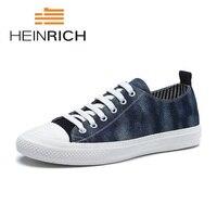Генрих 2018 Новая модная парусиновая обувь личности босоножки Обувь для отдыха Брендовая Дизайнерская обувь Мужская обувь в британском стил