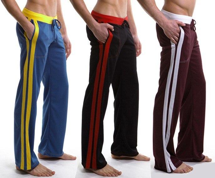 Wholesale New Men\'s Home Sports Pants Fitness Hous...