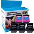 Сменный картридж для hp65 65XL заправленные чернила для принтера HP 3732 3752 3755 3730 3758 3720 3722 3723 все-в-одном
