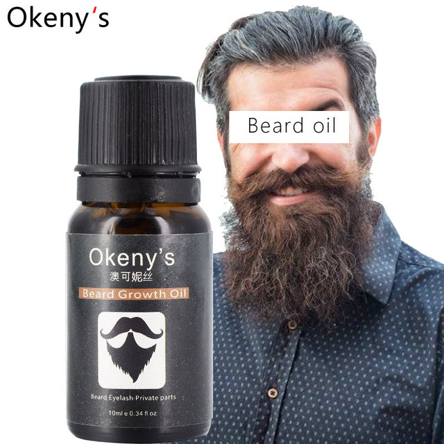 New Beard Growth Oil Beards Hair Thicker Essence Mustache Thick Sideburn Treatment Sunburst Alopecia Serum Product Beard Shaping